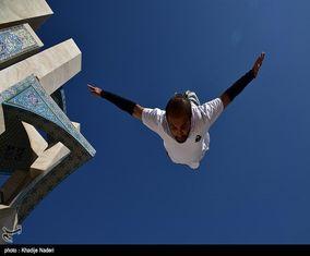 تصاویر شگفتانگیز پارکور در اصفهان
