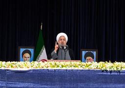 روحانی: آمادهایم با همه همسایگان روابط صمیمی داشته باشیم/هدف ما توسعه است، شیعه و سنی مهم نیست/تورم امسال بیش از ۲۰ درصد بود؛ اما توان ما برای افزایش حقوق بیش از این نبود