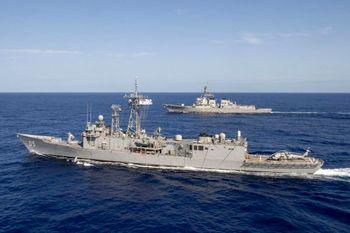 ایران در بین پنج قدرت دریایی جهان +جدول