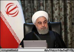 خبر مهم روحانی از تلاشها برای لغو همه تحریمهای ایران در شرایط شیوع کرونا