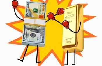 پیشنهاد فروش طلا در روز نزول دلار
