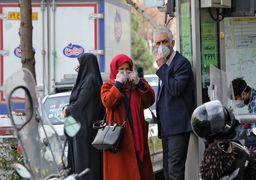تمام نقاط تهران آلوده به کروناست