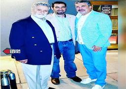 شهاب حسینی با بهروز وثوقی در آمریکا فیلم بازی می کند +عکس