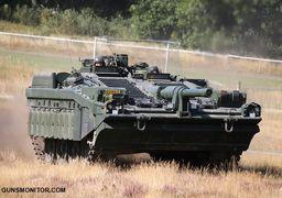 تانک سوئدی با طراحی متفاوت! +عکس