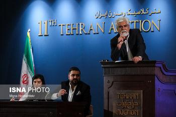دوازدهمین حراج تهران برگزار شد؛ فروش اثر هنری به قیمت ۳ میلیارد و ۲۰۰ میلیون تومان