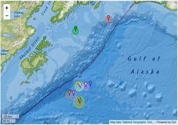 274 زلزله ظرف 30 روز آلاسکا را به لرزش درآورده اند