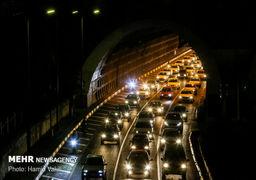 ترافیک سنگین در آزادراه پردیس-تهران