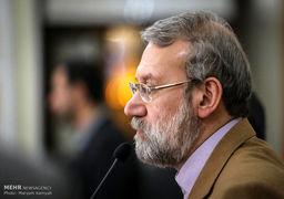 نظر رئیس مجلس در مورد لغو برجام