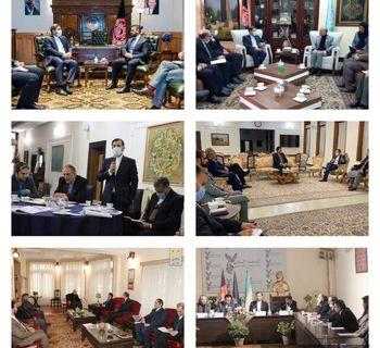 رایزنی خطیبزاده با برخی مقامات افغانستان در جریان سفر به این کشور