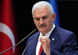 نخست وزیر ترکیه : برگزارکنندگان همه پرسی کردستان عراق را مجازات خواهیم کرد