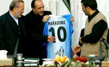 مارادونا پیراهنش را به احمدینژاد هدیه نکرد!