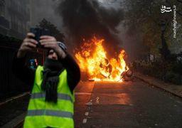 تصاویر شنبه سیاه پاریس