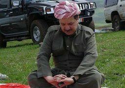 اولین موضع گیری مسعود بارزانی در برابر عقبنشینی از کرکوک